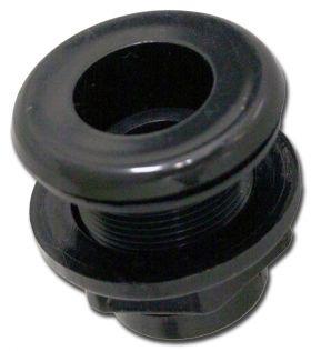 Bulkhead Fitting, Slip inlet x Slip outlet - 1 inch
