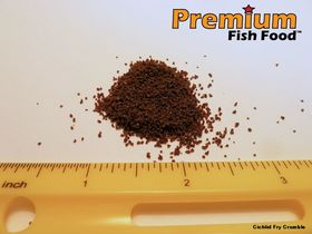 Cichlid Fry Crumble 20 lbs
